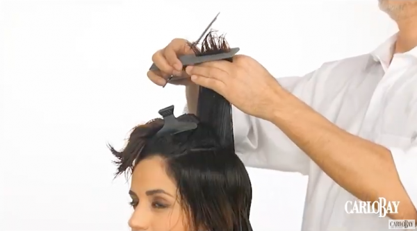 coupe courte - tutorial